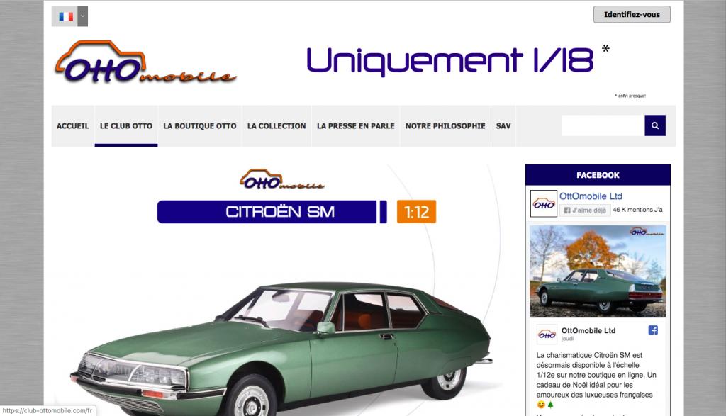 site internet Otto-mobiles