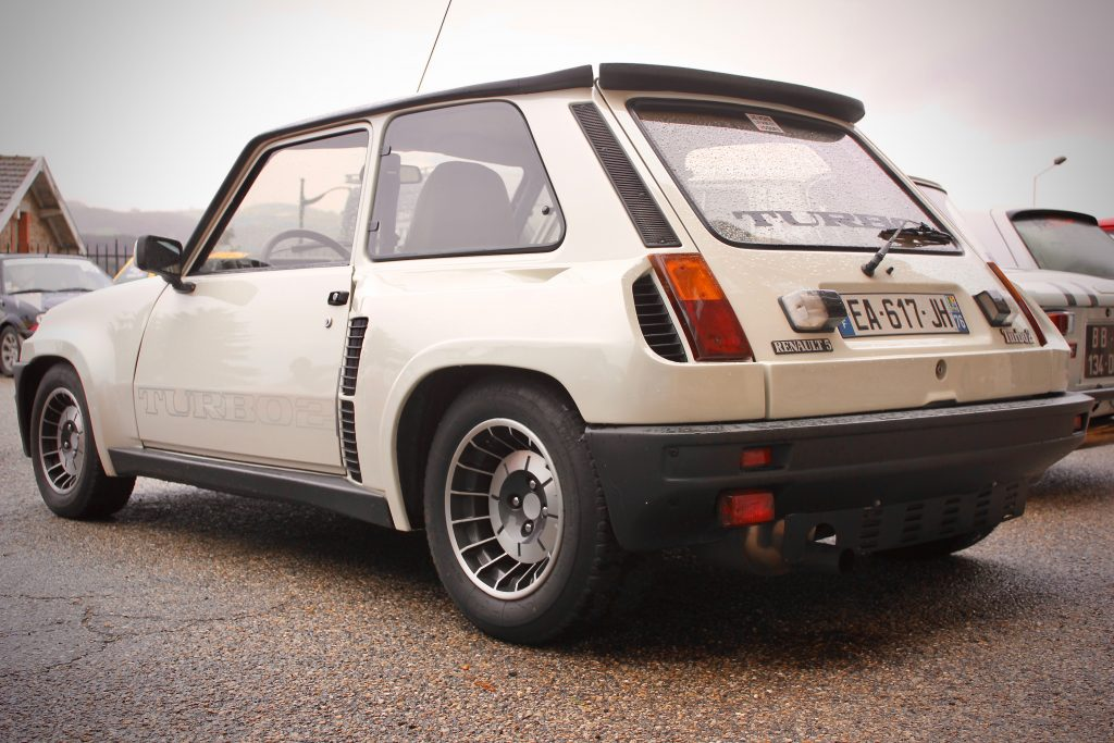 Renault turbo2 blanche
