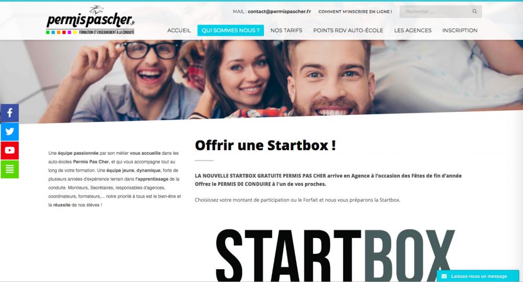 Site internet Lepermispaschère.fr