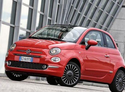 Fiat 500 comptez 4,7L en mixte et 6,5L en ville