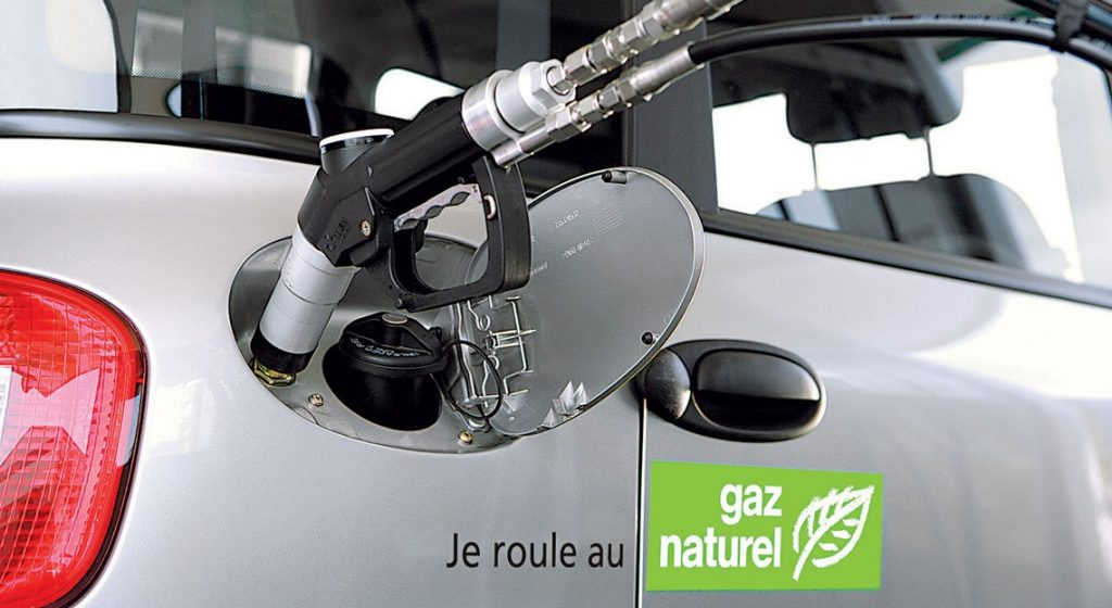 remplir son réservoir avec du gaz naturel
