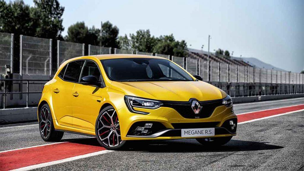 megane 4 rs jaune